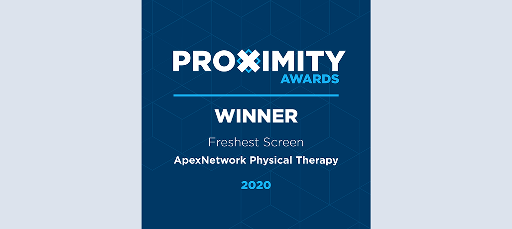 ApexNetwork Wins Proximity Award